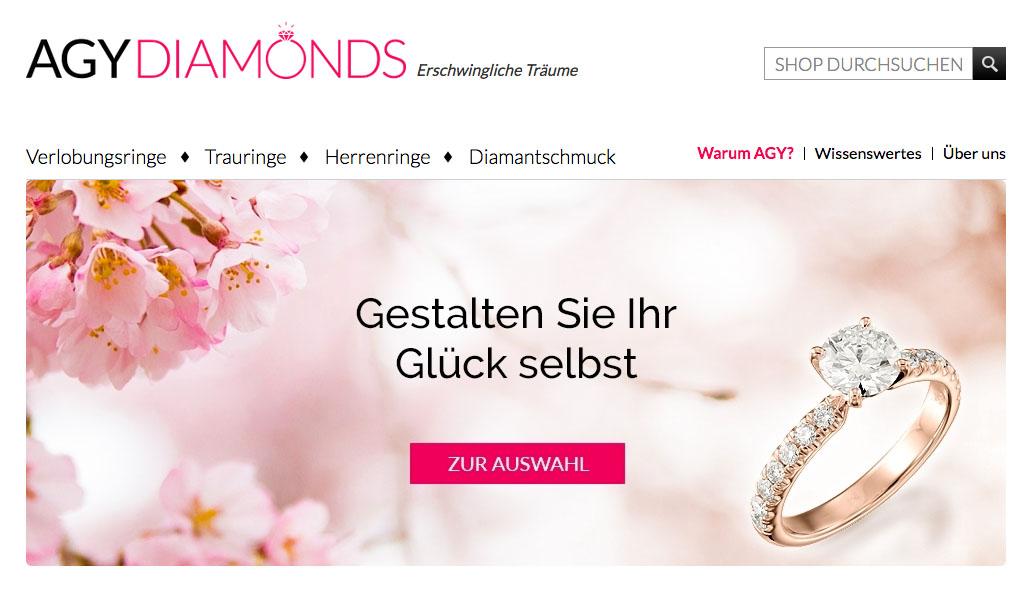 Diamantschmuck kaufen  Ringe und Diamantschmuck von AGY Diamonds kaufen – liifestyle.de Blog