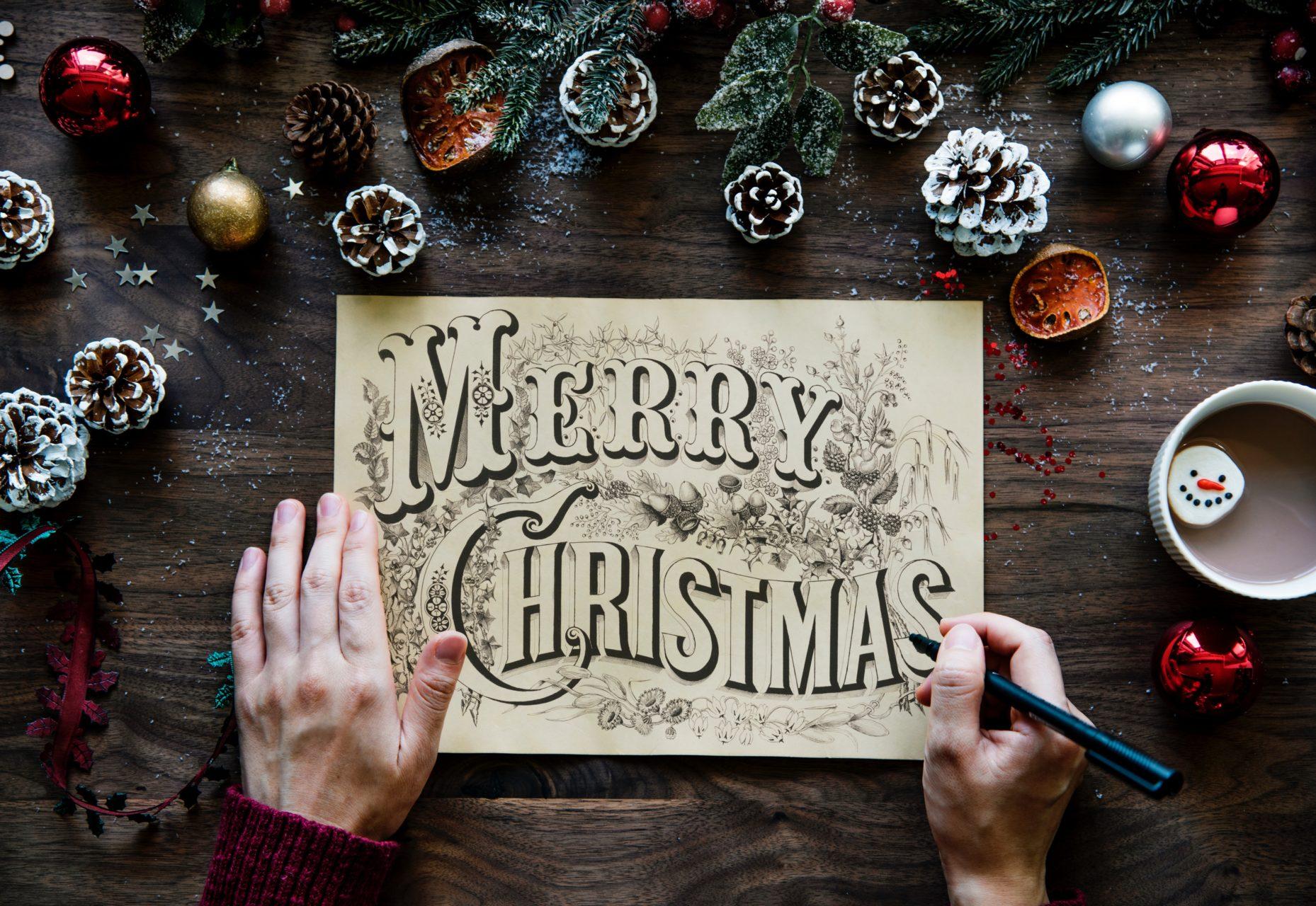 Kreative Weihnachtskarten Selbst Gestalten Weihnachtspostkarten Bestellen Kaufen