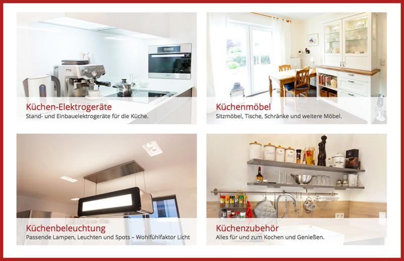 Küchenshop  Küchenmöbel, Haushaltsgeräte, Beleuchtung und Küchenzubehör im ...