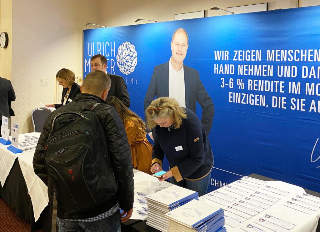 Ulrich Mueller Tag Der Finanzen Erfahrung Seminar Aktien Vermieten Optionen