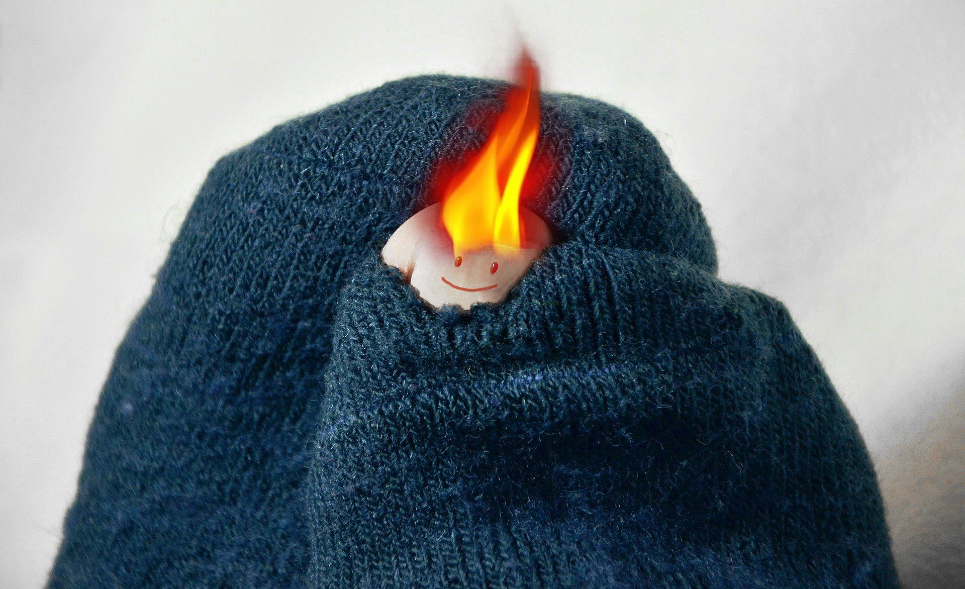 Beheizbare Socken Mit Heizung Struempfe Beheizt Akku Batterie