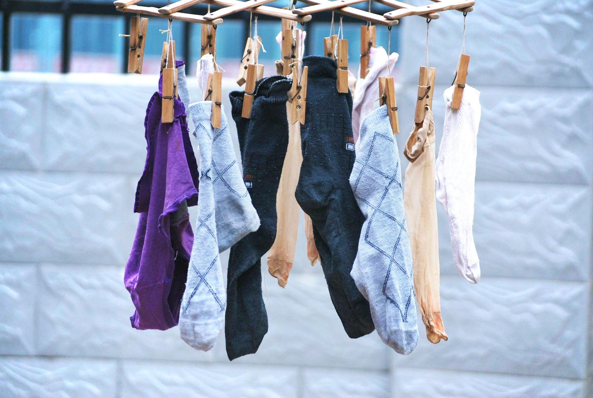 Beheizbare Socken Reinigung Maschinenwaschbar Sauber Trocknen