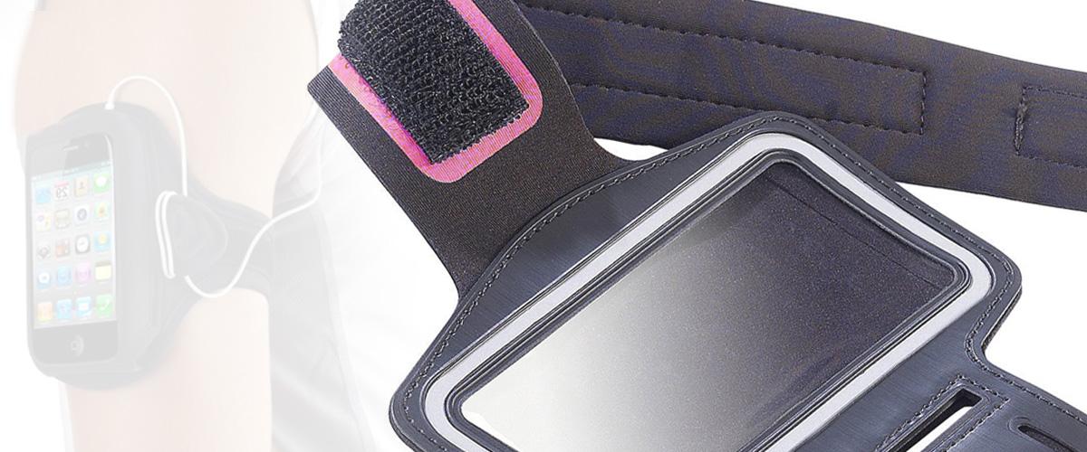 sport armband mit handyhalterung fitnessarmband f r das. Black Bedroom Furniture Sets. Home Design Ideas