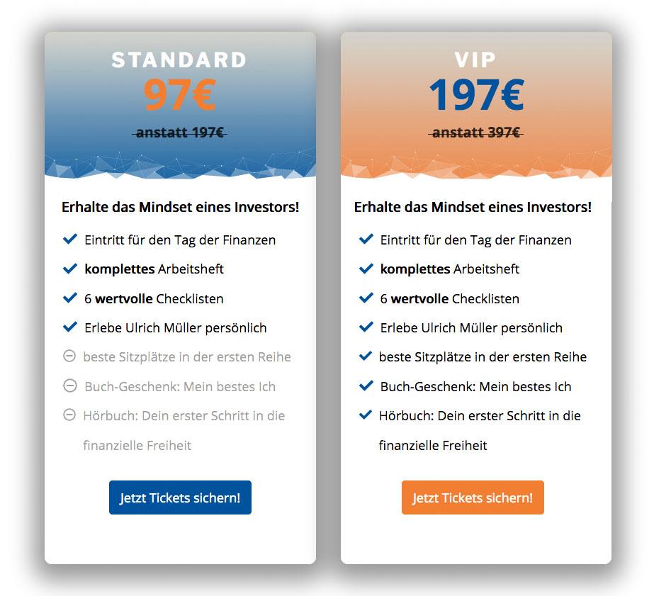 Ulrich Mueller Tag Der Finanzen Kosten Ticket Preis