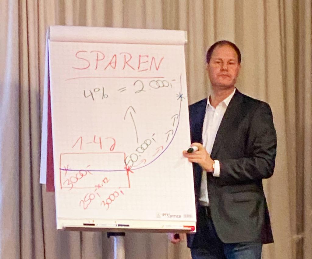 Ulrich Mueller Tag Der Finanzen Sparen Zinseszins